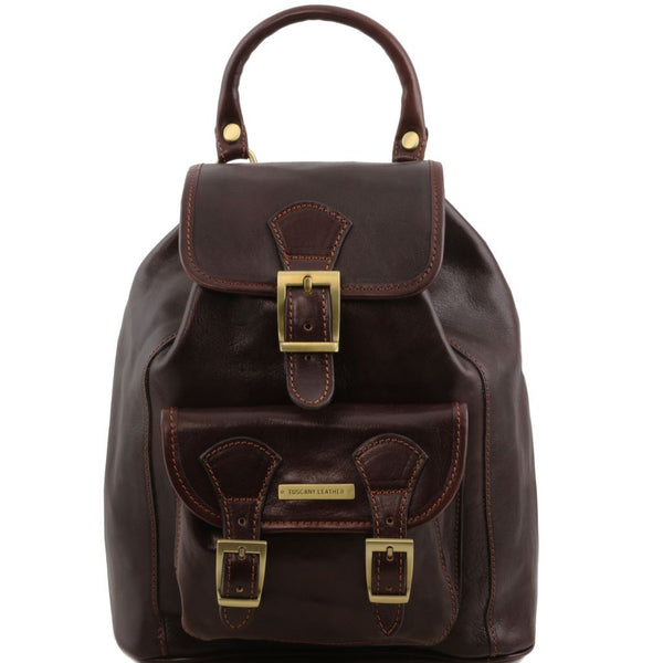 Kobe Leather Backpack