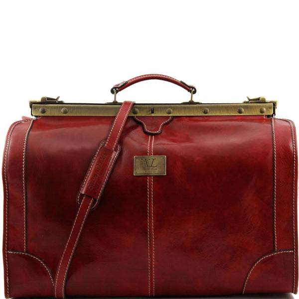 Madrid Gladstone Leather Bag - Large size