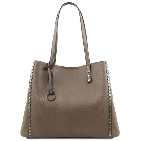 TL Bag Soft leather shopping bag