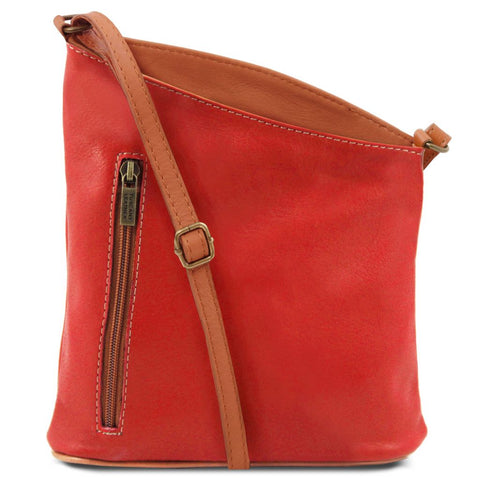TL Bag Mini soft leather unisex cross bag