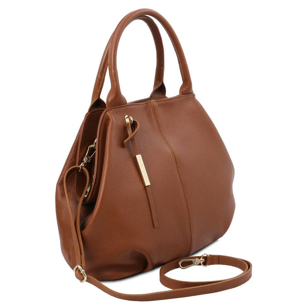 TL Bag Soft leather tote