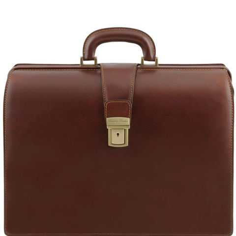 Canova Leather Doctor bag briefcase 3 compartments fc146f0bcae21