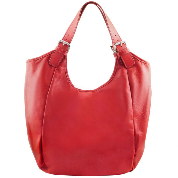 Gina Leather hobo bag