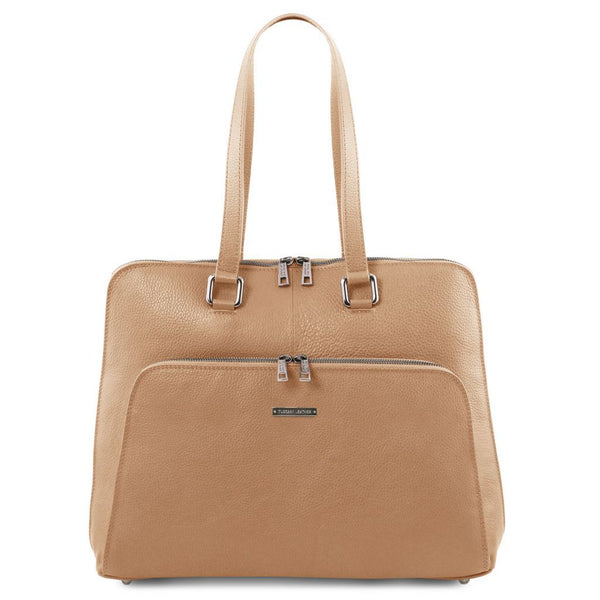 Lucca TL SMART business bag in soft leather for women