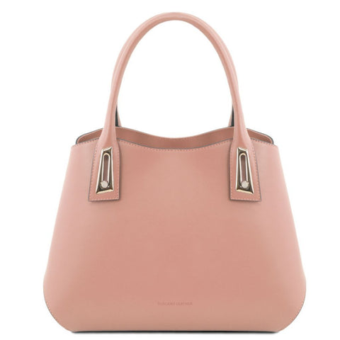 Flora Leather handbag