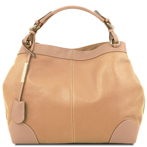 Ambrosia Soft leather bag with shoulder strap