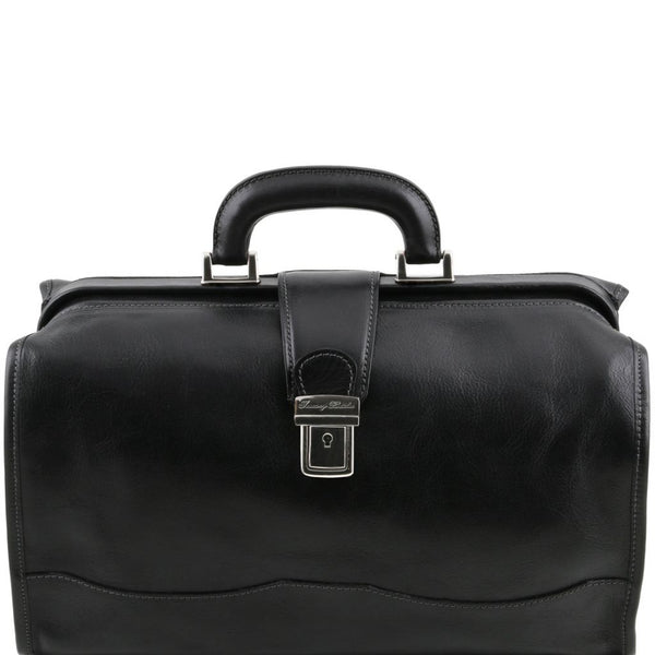 Raffaello Doctor leather bag