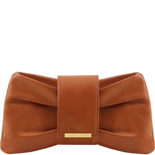 Priscilla Clutch leather handbag