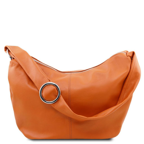 Yvette Leather hobo bag
