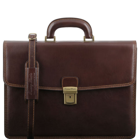 Amalfi Leather briefcase 1 compartment