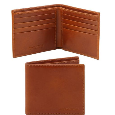 Exclusive 2 fold leather wallet for men