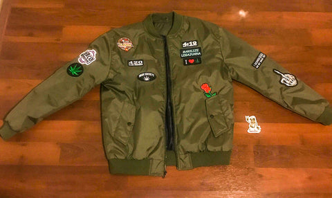 One Of A Kind HRCO Bomber Jacket