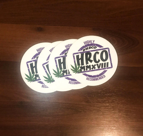 #HRCO Logo Sticker