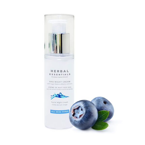 AHA Night Cream with Sugar Maple & Bilberry extracts
