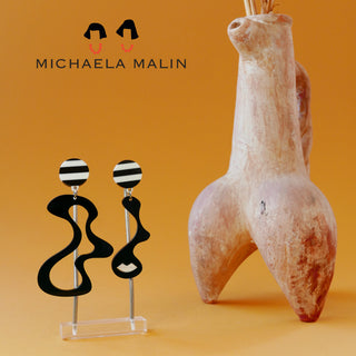 Michaela Malin new earring collection, taken by David Chaki
