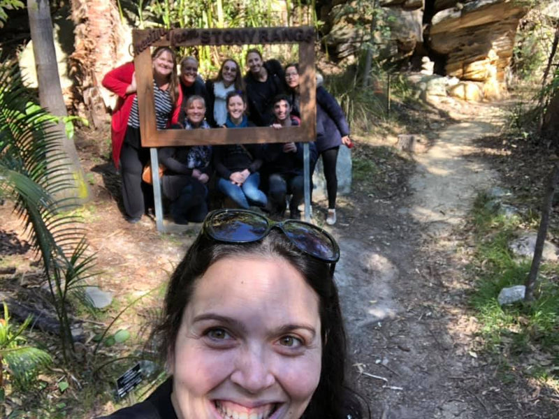 Koori Curriculum Educators Yarning Circle visit the Northern Beaches