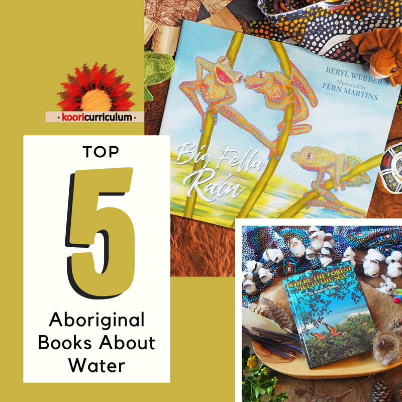 Our Top Books About Water that embed an Aboriginal Perspective