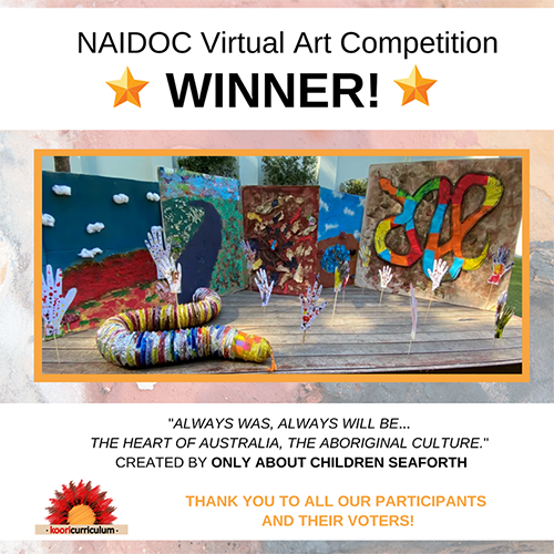 NAIDOC Art Competition Top 10 Submissions
