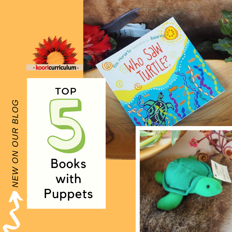 Top 5 Books with Puppets