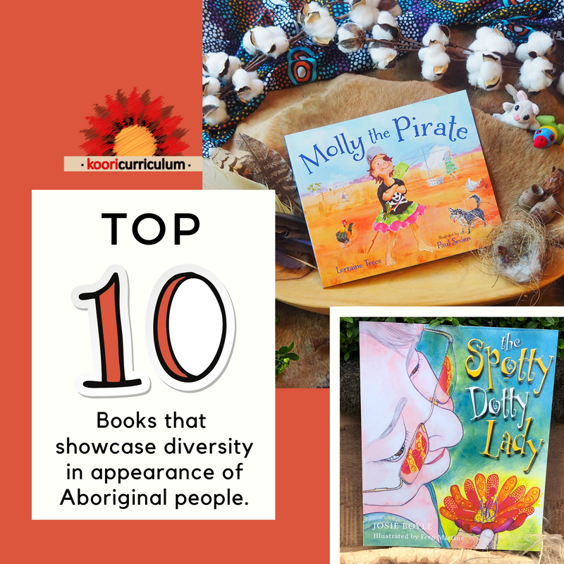 Top 10 Books that showcase diversity in appearance of Aboriginal people
