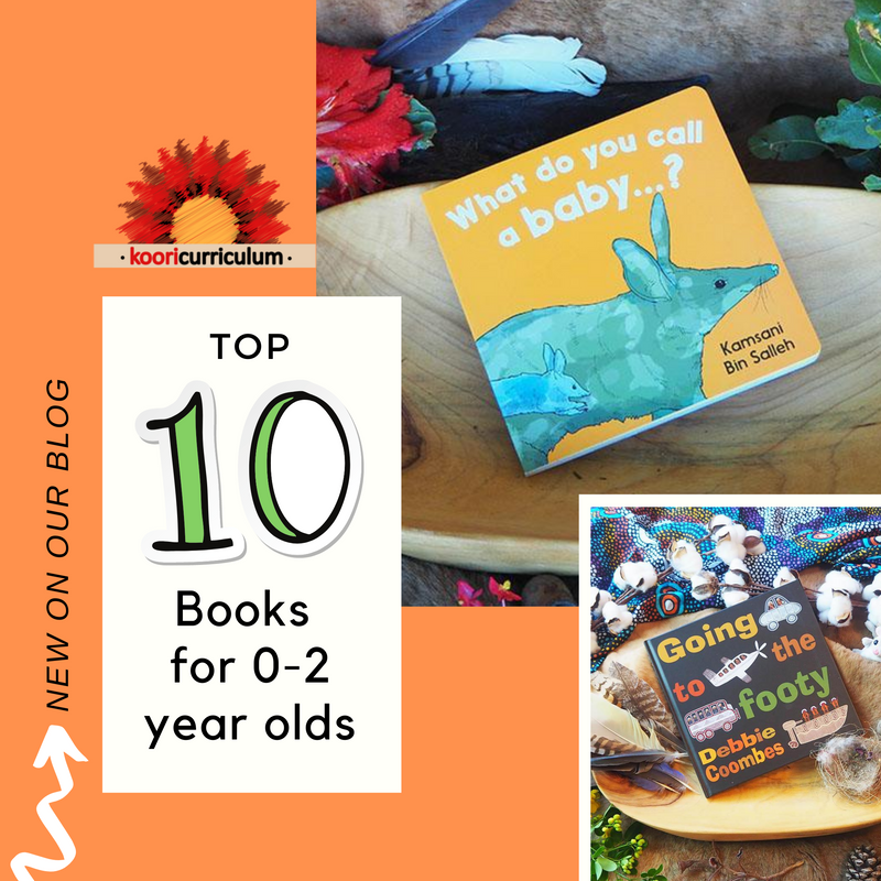 Top Ten Books for 0-2 year olds