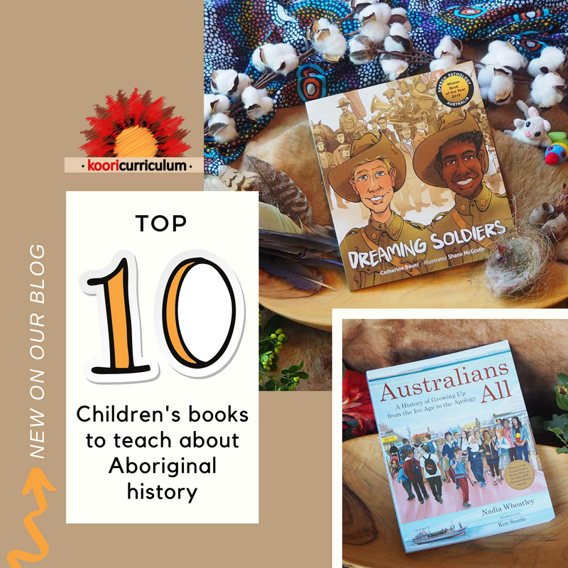 Top 10 Childrens books to teach about Aboriginal history