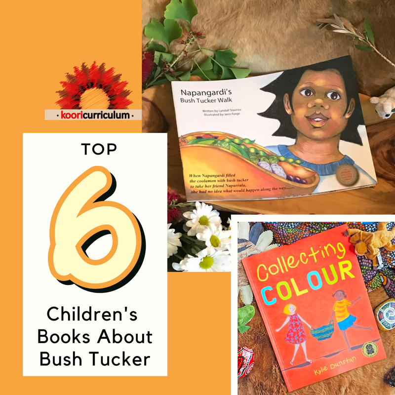 Top 6 Childrens Books About Bush Tucker