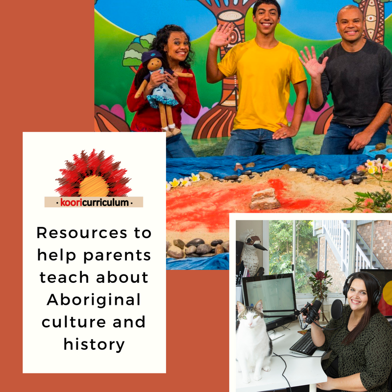 Resources to help parents teach about Aboriginal culture and history