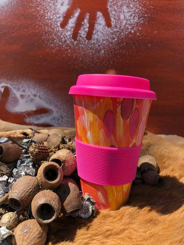 Bamboo Eco Coffee Cup - Anna Price