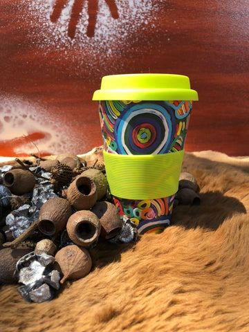 Bamboo Eco Coffee Cup - Sacha Long