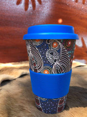 Bamboo Eco Coffee Cup - Colleen Wallace