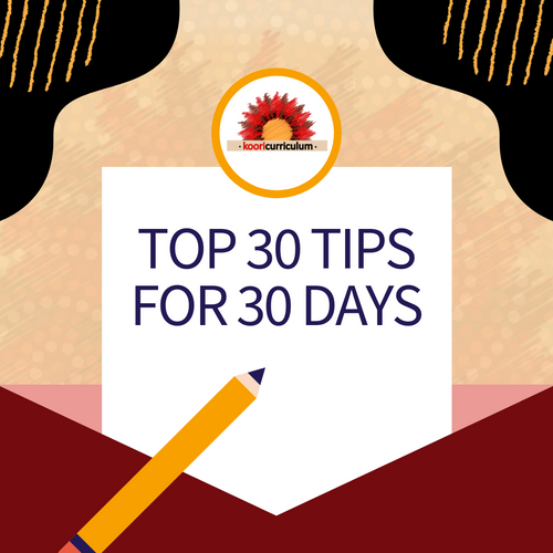 Top 30 Tips in 30 Days