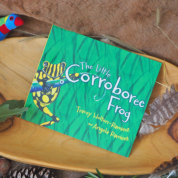 The Little Corroboree Frog - Tracey Holton-Ramirez