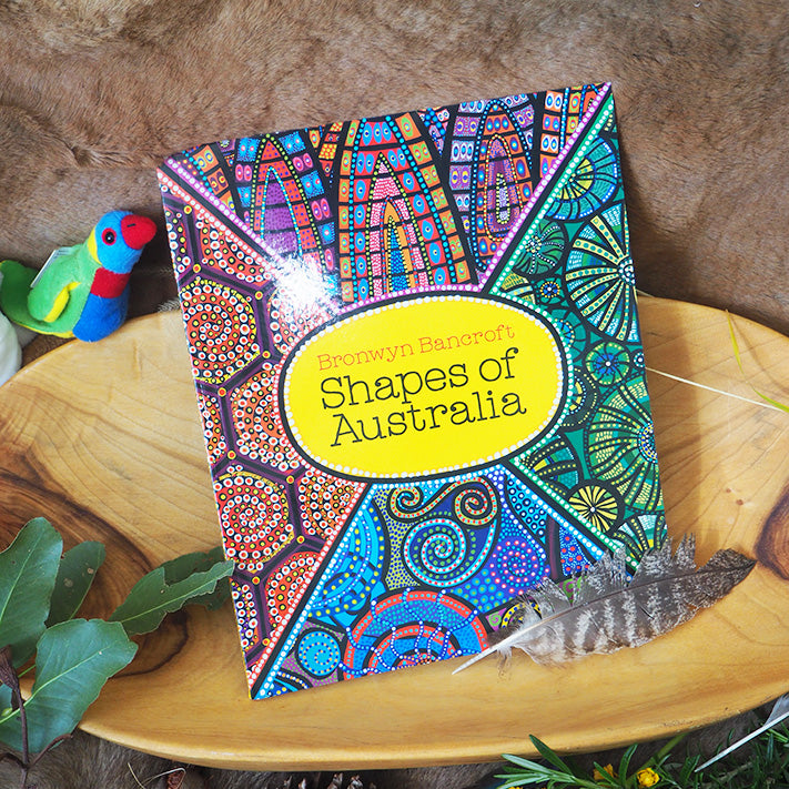 Shapes of Australia - Bronwyn Bancroft