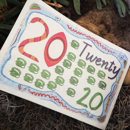 1-20 Aboriginal Counting Cards