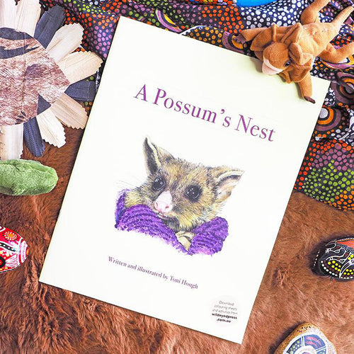 A Possum's Nest - Toni Hough