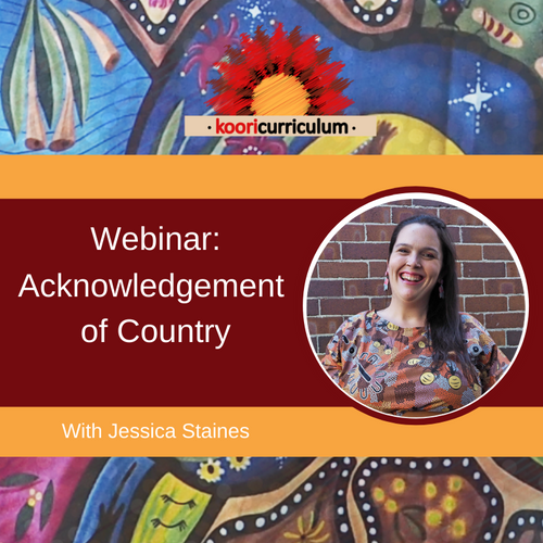 Acknowledgement of Country Webinar