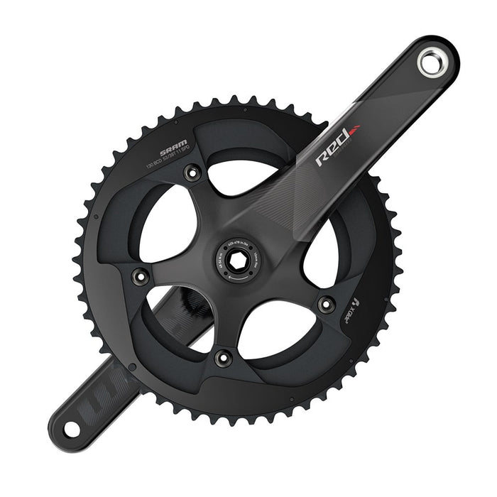 Sram Red kranksæt GXP 53-39 Yaw - Top kranksæt til 11-speed