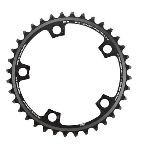 SRAM RED22 39t X-Glide ø130 11 speed klinge Blast black