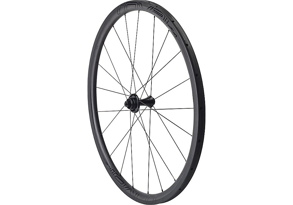Roval CLX 32 tubular Disc Front Satin Carbon/Gloss black