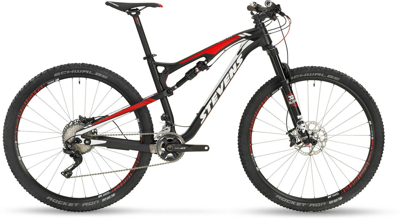 "Stevens Jura Carbon Fully ES 29"" 2017 - Carbon fullsuspension MTB med XT"
