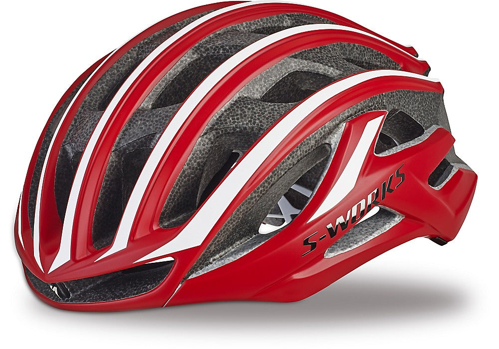 Specialized S-Works Prevail II cykelhjelm team red