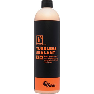 ORANGE SEAL Refill Tubeless Tire Sealant 473ml Í Latexbeskyttelse til varmt vejr