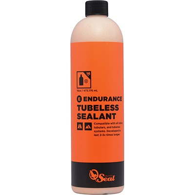 ORANGE SEAL Refill Endurance - Tubeless Tire Sealant 473ml - Helårs latexbeskyttelse