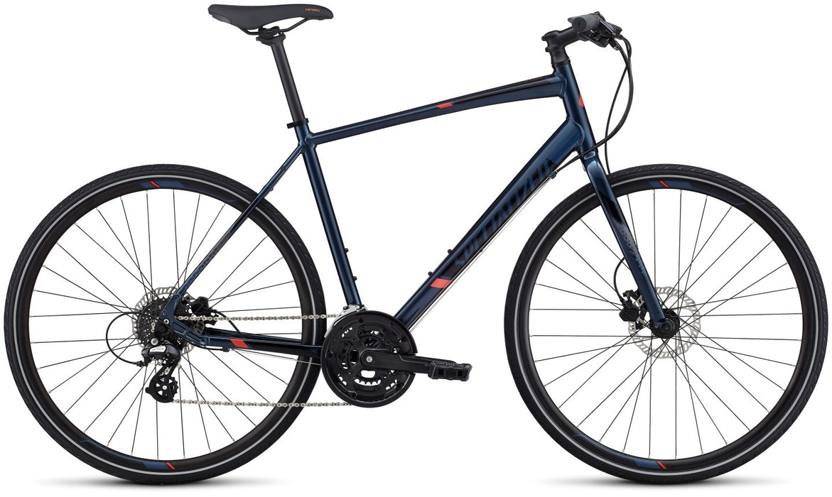 Specialized Sirrus Disc Int (2017) Í Citybike med Shimano Altus 8-speed gear