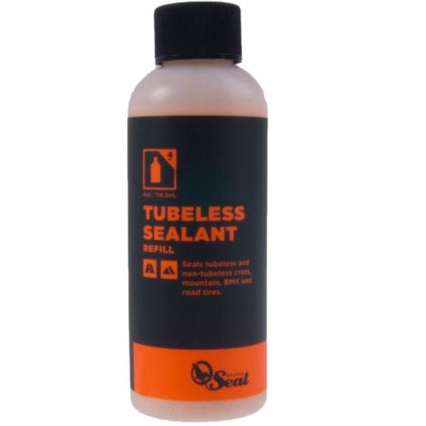 ORANGE SEAL Refill Tubeless Tire Sealant 118ml - Latexbeskyttelse til varmt vejr
