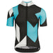 Assos FASTLANE Rock Short Sleeve Jersey - damBlue