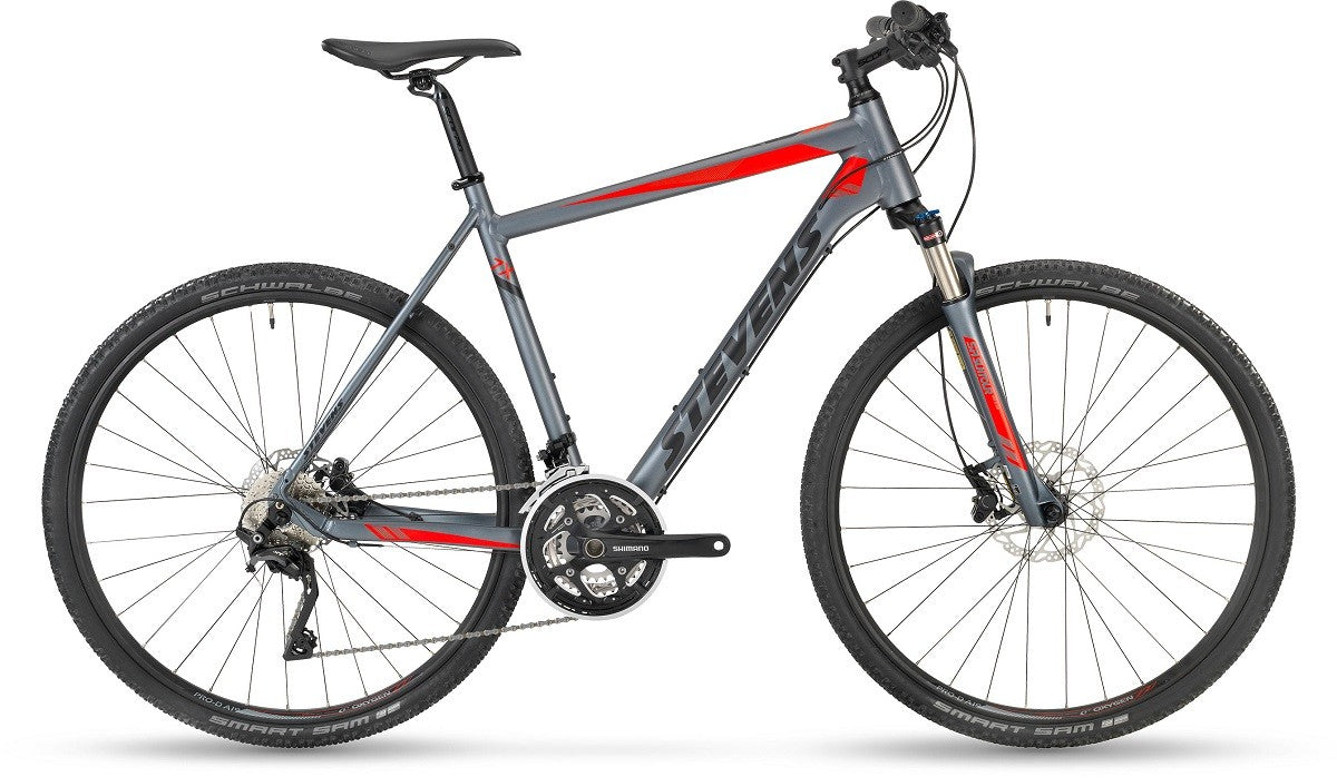 Stevens X Cross 7X Gent - ATB Herrecykel med Suspension gaffel