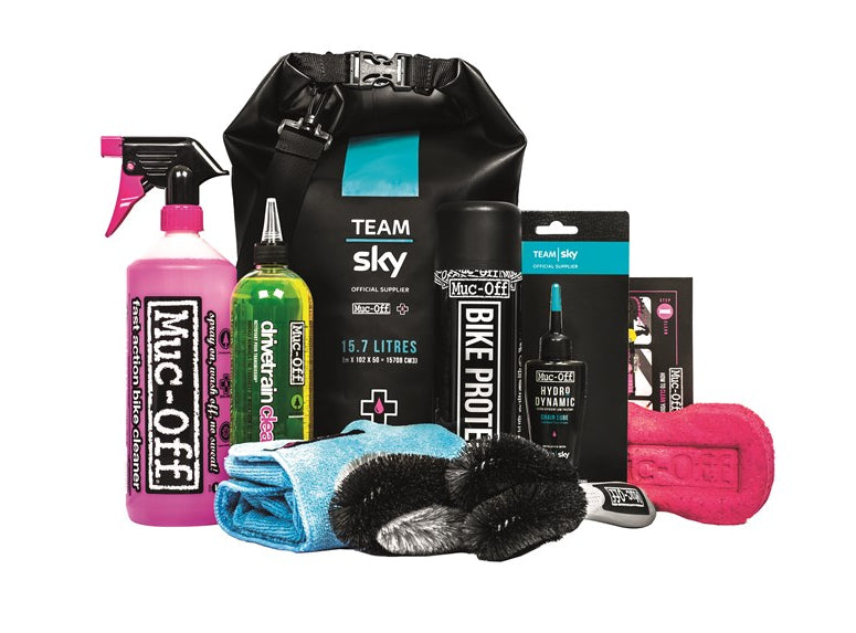 Muc-Off Team Sky Dry Bag Rengøringssæt | polish_and_lubricant_component