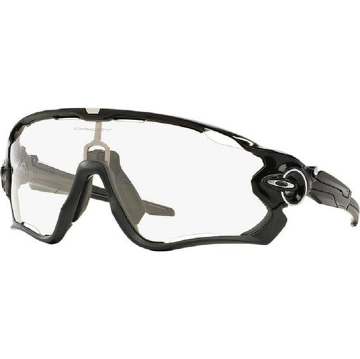 Oakley Jawbreaker Pol black/Clear black iridium photo